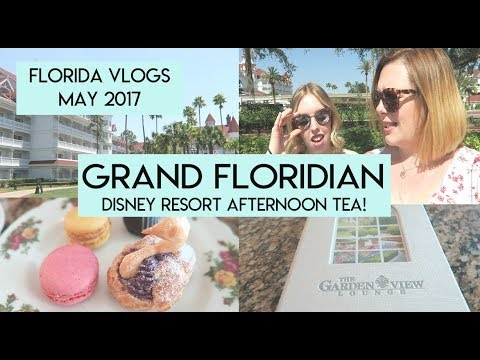 Day 3: Grand Floridian Afternoon Tea | Florida Vlogs May 2017 | Elle And Mimi