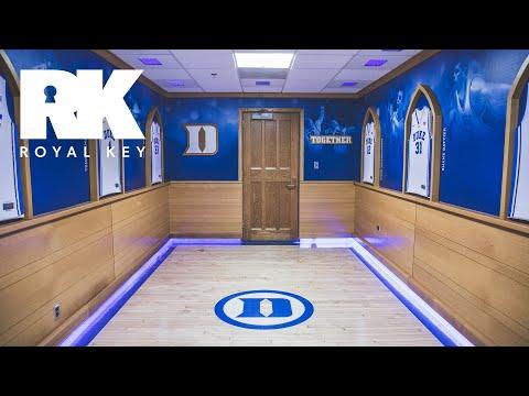 We Toured the Duke Blue Devils' Sneaker-Filled Basketball Facility | Royal Key