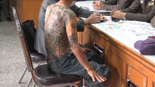 Download Video Retired Japanese crime boss arrested in Thailand MP3 3GP MP4