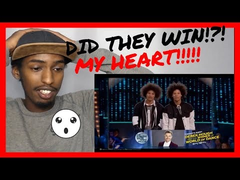 I LOST IT!!!! World Of Dance Final 2017!! Les Twins Final Performance and Result! Part 2 REACTION!!