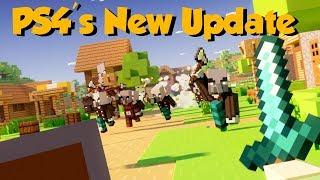 Minecraft PS4 TU92 Explored: Sword Blocking Removed?