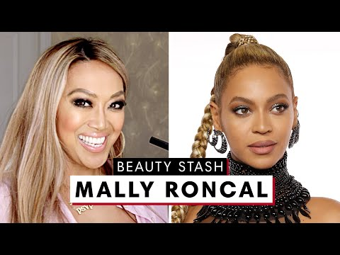 Celebrity Makeup Artist Mally Roncal's MAJOR Beauty Stash | The Beauty Show | Harper's BAZAAR