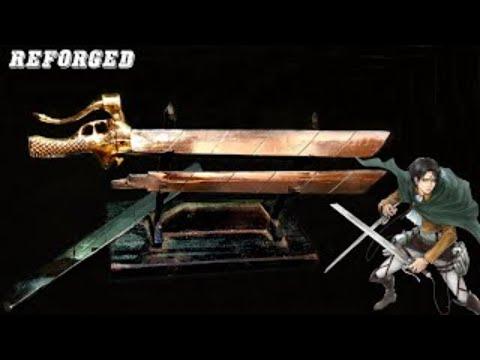 Rèn kiếm của Eren