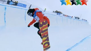 Dilar Spain  city photo : Snowboard Women's Halfpipe - 27th Winter Universiade, Granada, Spain
