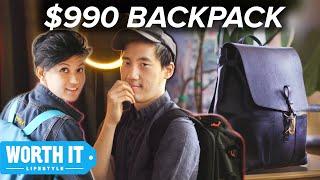 Video $36 Backpack Vs. $990 Backpack MP3, 3GP, MP4, WEBM, AVI, FLV April 2019