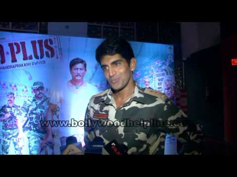 Interview With Mona Singh, Adil Hussain & others For Movie Zed Plus