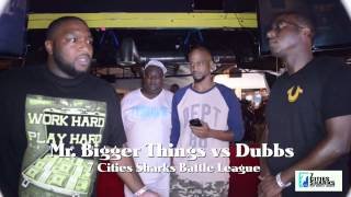 7 Cities Sharks | Mr Bigger Things vs. Dubbs