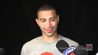 Kendall Marshall Draft Combine Interview