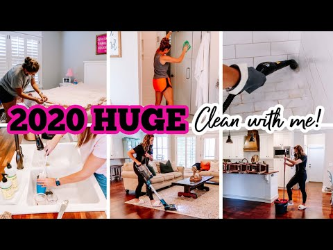 2020 HUGE 3-DAY CLEAN WITH ME | EXTREME CLEANING MOTIVATION | HOW TO CLEAN A GROSS SHOWER Amy Darley