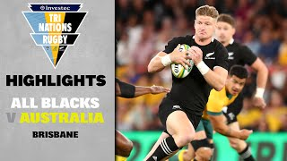 Australia v New Zealand Rd.2 2020 Rugby Championship video highlights