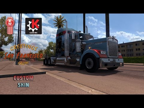 San Francisco Khross Custom Skin - Kenworth W900