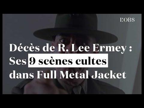 Décès de R. Lee Ermey : Ses 9 scènes cultes de sergent dans Full Metal Jacket