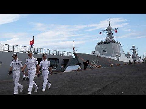 Στις Φιλιππίνες η αποστολή του ναυτικού στόλου της Κίνας