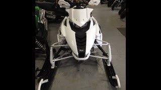 8. 2013 ARCTIC CAT XF1100 TURBO LIMITED EDITON WHITE!!!! TRAIL RIDING