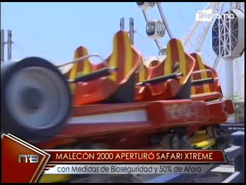 Malecón 2000 aperturó Safari Xtreme con medidas de bioseguridad y 50% de aforo