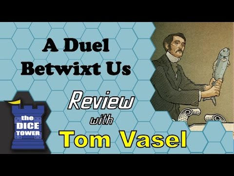 duel - Tom Vasel takes a look at this manly game about duels. Buy great games at http://www.coolstuffinc.com Find more reviews and videos at http://www.dicetower.com.