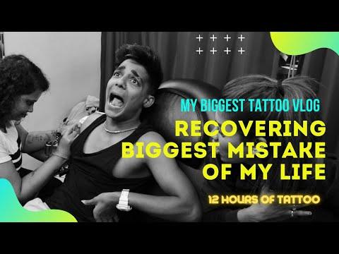 RECOVERING BIGGEST MISTAKE OF MY LIFE ! Tattoo Vlog I Rohit Zinjurke & Nita Shilimkar I reactionboi
