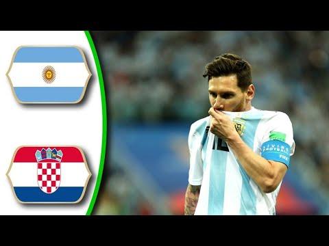 Argentina vs Croatia 0-3 -All Goals & Highlights -21/06/2018 HD World Cup