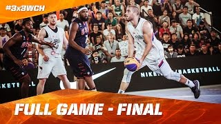 Watch the complete final of the 2016 FIBA 3x3 World Championships between Serbia and USA. Subscribe to the FIBA3x3 ...