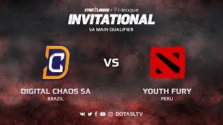 Digital Chaos SA против Youth Fury, Первая карта, SA квалификация SL i-League Invitational S3