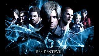 Resident Evil 6 The Movie (All Cutscenes Edited in Order) PS4 1080p