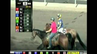 HnR 's Kindle wins Bangles and Beads Stakes Fairplex Edwin Maldonado up