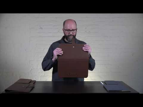 Valet Slim Portfolio for iPad Pro 10.5 & 12.9 Video