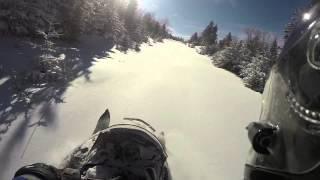 4. 2015 Off-trail Rangeley, ME Polaris RMK GoPro - Feat. The Gorillaz