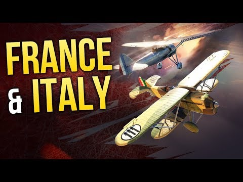 War Thunder. France & Italy