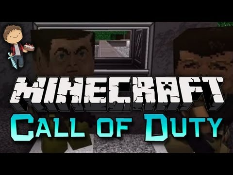 Minecraft: Call of Duty GUN Mini-Game w/Mitch & Preston!