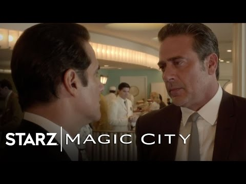 "Magic City | Episode 5 Scene Clip ""Shot Him In The Back"" 