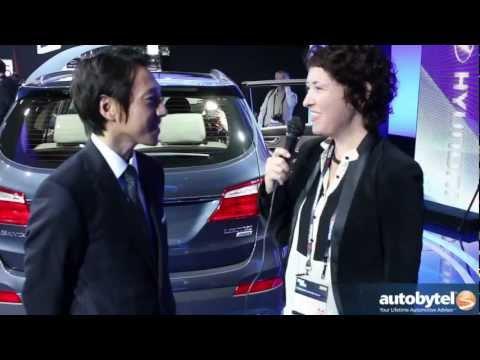 2013 Hyundai Santa Fe At The LA Auto Show