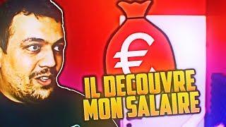 MON PÈRE DÉCOUVRE MON SALAIRE YOUTUBE