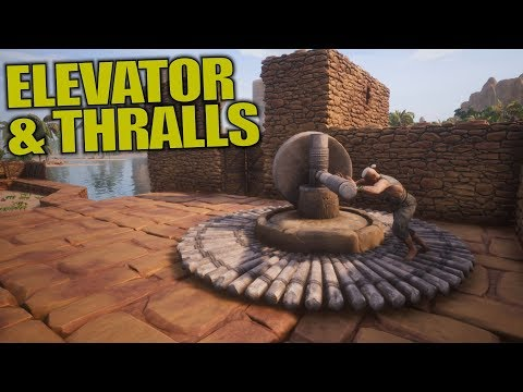 ELEVATOR & THRALLS | Conan Exiles | Let's Play Gameplay | S02E06