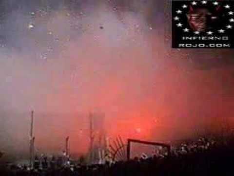 Espectacular recibimiento - Independiente - La Barra del Rojo - Independiente