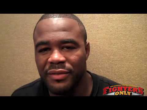 Rashad Evans responds to Rampage and Boring Fight