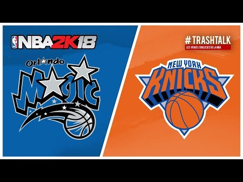 NBA 2k18 - Magic All Time vs Knicks All Time