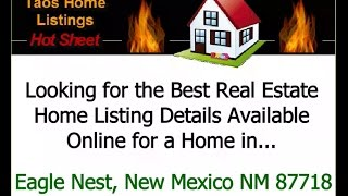 Eagle Nest (NM) United States  city photo : Best Real Estate Home Listing Details Available Online For Eagle Nest, New Mexico NM 87718