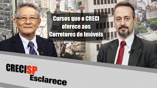 Cursos que o CRECI oferece aos corretores - CRECI Esclarece 280