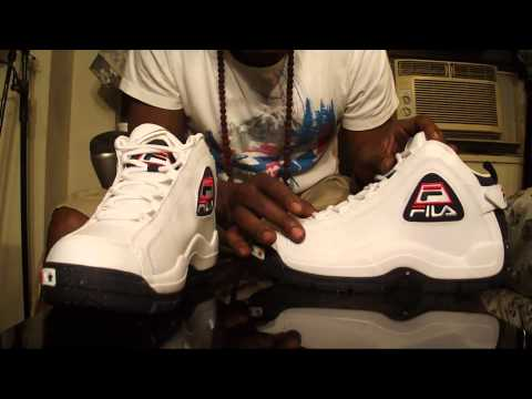 fila - HITBOYZ SNEAKER REVIEW OF THE (GRANT HILL) FILA 96 OLYMPICS// WHT,BLUE,RED COLOUR // SNEAKER WORN BY GRANT HILL IN 1996 OLYMPIC GAMES ATL.