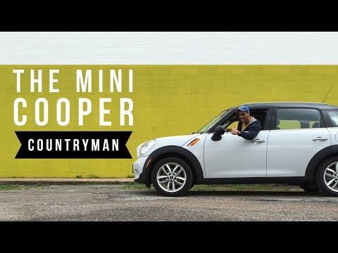 2014 Mini Cooper Countryman | an average guy's review (видео)