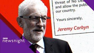 Video Jeremy Corbyn's plan to defeat a no-deal Brexit - BBC Newsnight MP3, 3GP, MP4, WEBM, AVI, FLV Agustus 2019