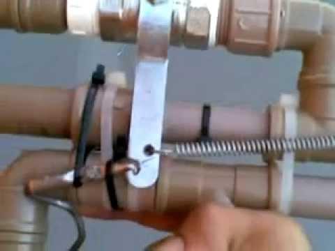 Arma de pressão caseira. potente. Aracaju