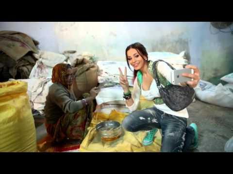 دومينيك حوراني تتعرض لمحاولة تحرش أثناء تصوير برنامجها في الهند