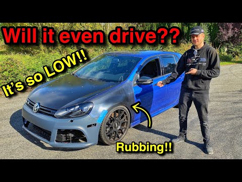 Rebuilding A WRECKED And MODDED 2012 MK6 Volkswagen Golf R From COPART Part 4! (FOUND MORE DAMAGE!!)