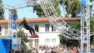 Usher Becomes an American Ninja Warrior - YouTube