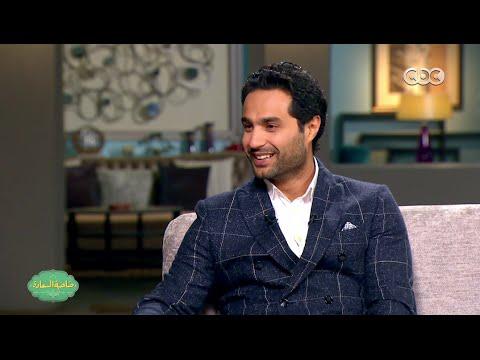 """شاهد- كريم فهمي """"عملت فيلم مع عمرو سلامة ميتشافش.. والتمثيل عندي أهم من التأليف و الطب"""""""