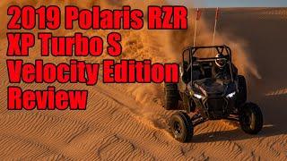 9. Polaris RZR XP Turbo S Velocity Edition Review