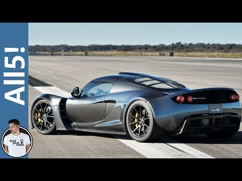 Top 5 Fastest Cars In The World 2015 (VIDEO)