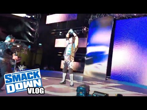WWE SMACKDOWN LIVE RINGSIDE VLOG   LONDON O2 ARENA 15TH MAY 2018